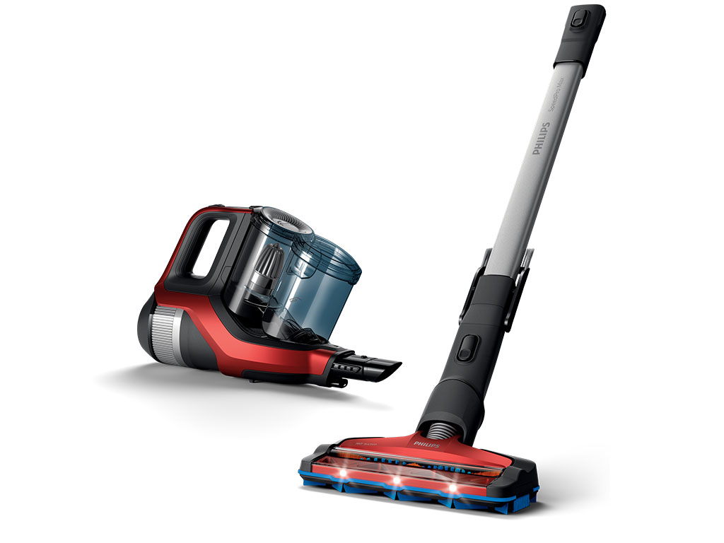 With SpeedPro Max you get the fastest way of cordless cleaning in