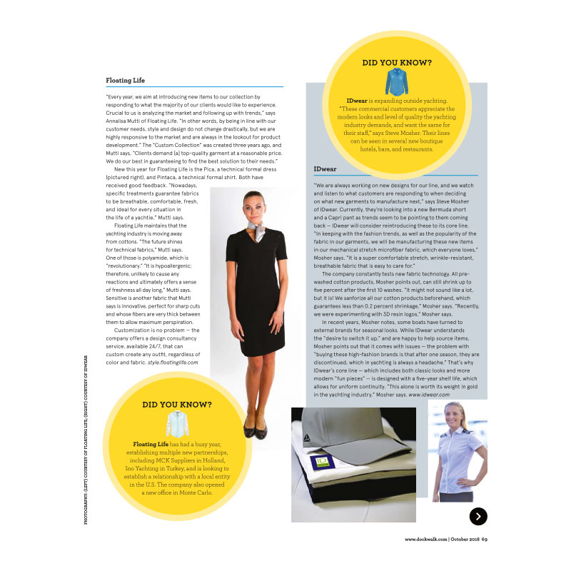 Floating Life Style in the latest Dockwalk Article!