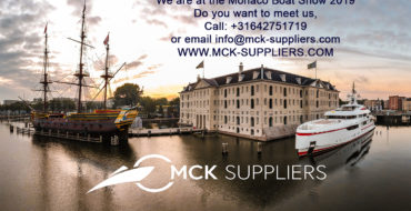MCK-Suppliers attend the Monaco Boat Show 2019