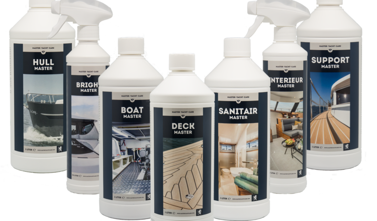 Master Yacht Care, Cleaning products for all maintenance on board